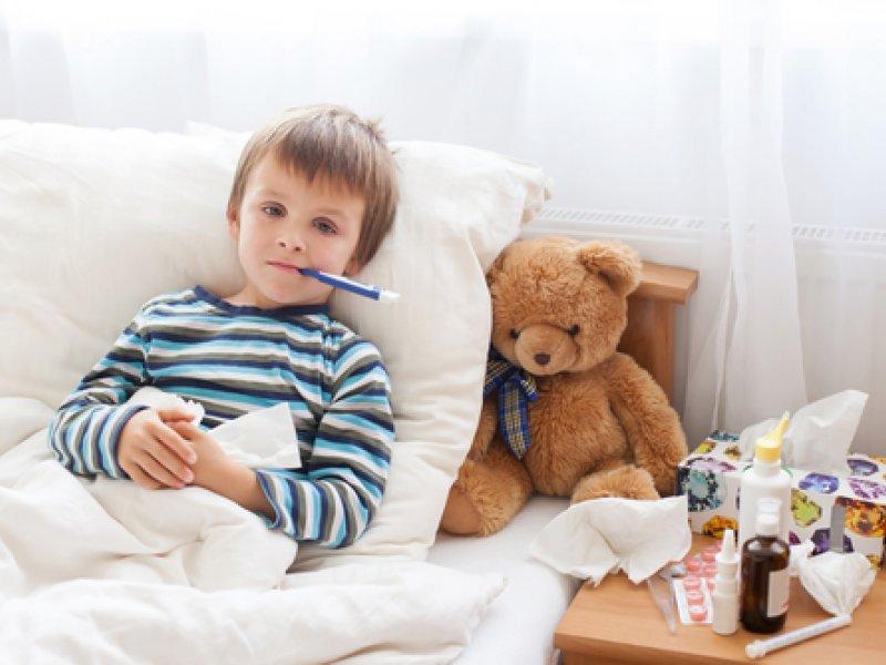 Ребёнок заболел?