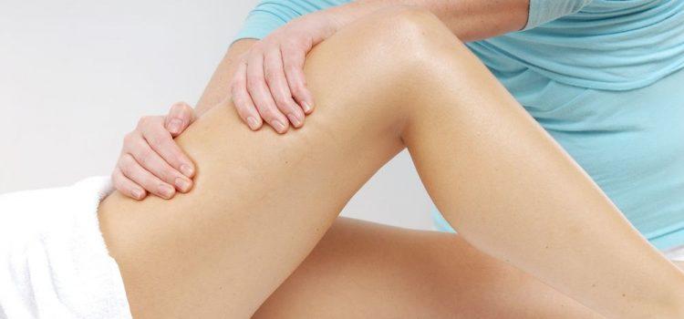 Лечение растяжения мышц бедра